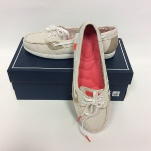 {8} NEW IN BOX Off-White Sperrys